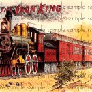 Iron King Cigar Box Art Ephemera Scrapbooking Altered Art Decoupage