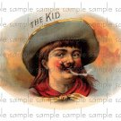 The Kid Cigar Box Art Ephemera Scrapbooking Altered Art Decoupage