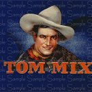 Tom Mix Cigar Box Art Ephemera Scrapbooking Altered Art Decoupage
