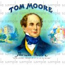Tom Moore Cigar Box Art Ephemera Scrapbooking Altered Art Decoupage