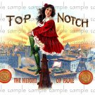 Top Notch Cigar Box Art Ephemera Scrapbooking Altered Art Decoupage