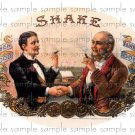 Shake Vintage Digital Cigar Box Art Ephemera Scrapbooking Altered Art Decoupage