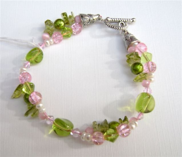 Colours of a Garden Life - Bracelet