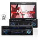 "7"" Touch Screen Wide In-Dash Fully Motorized TFT/ Monitor/DVD/AM/FM"