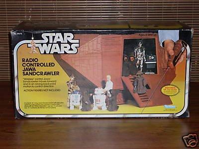Vintage Sandcrawler!IN package!!
