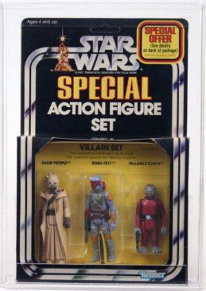 Vintage starwars 3 pack!!