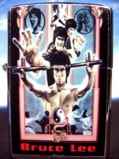Bruce Lee Fighting Nunchaku Refillable Lighter