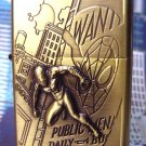 Super Hero Spiderman Flying Building Refillable Lighter