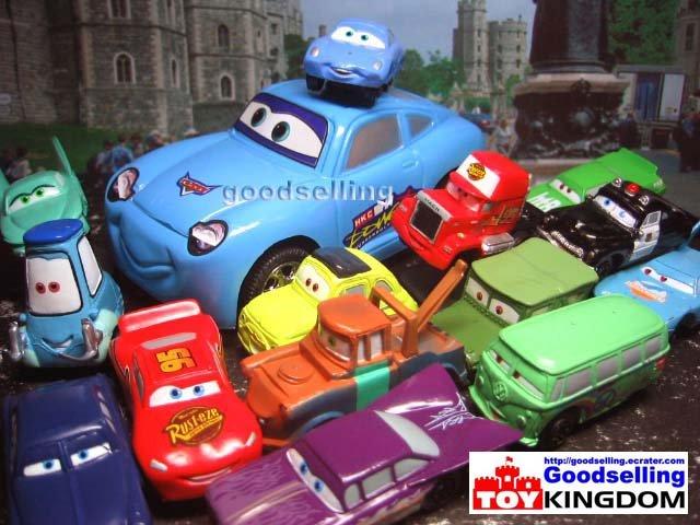 15 Disney Pixar The Cars McQueen Sally Figure Ref#B001