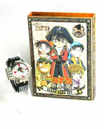 Japan Anime Detective Conan Shinichi LED Aim Watch wBox  Ref#001