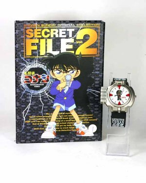 Japan Anime Detective Conan Shinichi LED Aim Watch wBox  Ref#002