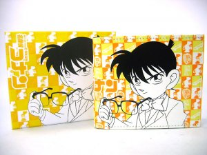 Japan Anime Detective Conan Shinichi Yellow Wallet Ref#DCW002
