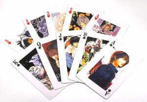 A Deck Of Full Set Death Note L, Light Yagami & Ryuk Poker Playing Card