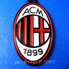 AC Milan Football FC Club Sports Colorful Necklace Pendant Free Chain