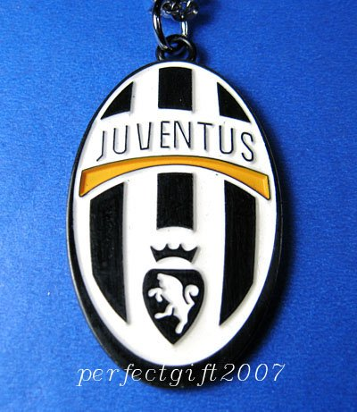 Juventus Football FC Club Sports Colorful Necklace Pendant Free Chain