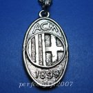 AC Milan Football FC Club Sports Unique Metal Necklace Pendant Free Chain
