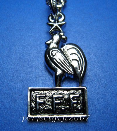 FFF Football FC Club Sports Unique Metal Necklace Pendant Free Chain