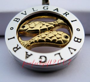 Pisces Horoscope Zodiac Steel Necklace Pendant