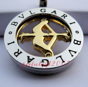 Sagittarius Horoscope Zodiac Steel Necklace Pendant