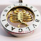 Scorpio Horoscope Zodiac Steel Necklace Pendant