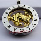 Taurus Horoscope Zodiac Steel Necklace Pendant