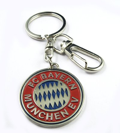 Bayern Munich Football FC Sports Metal Key Chain Ring