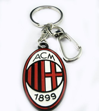 AC Milan Football FC Sports Metal Key Chain Ring New