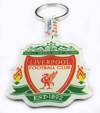 Liverpool Football Sports FC Acrylic Key Chain Keyring