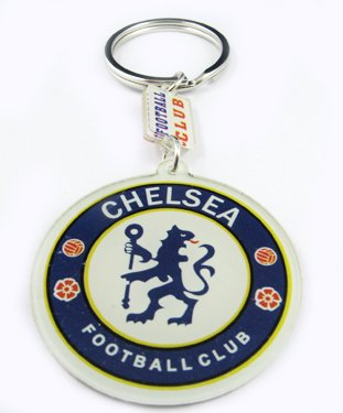 Chelsea Football FC Sports Acrylic Key Chain Keyring