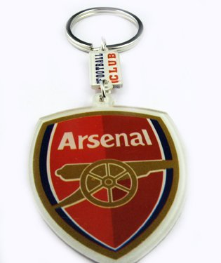 Arsenal Football FC Sports Key Chain Key Ring Brand New