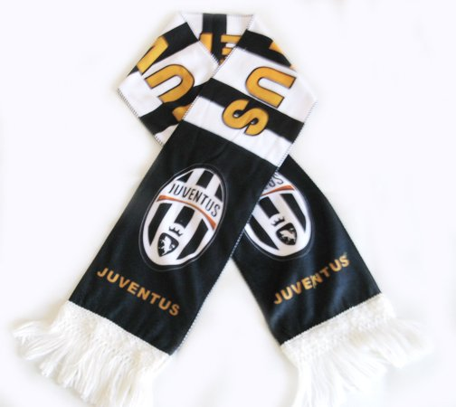 Juventus Football FC Club Sports Flannel Shawl Scarf New