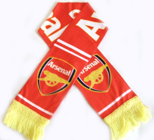 Arsenal Football FC Club Sports Flannel Shawl Scarf New