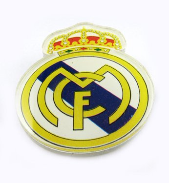 Real Madrid Football FC Sports Acrylic Brooch Pin Badge
