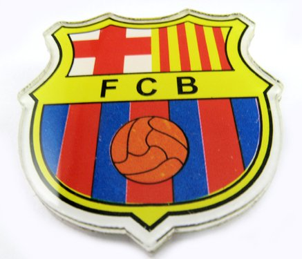 Barcelona Football FC Sports Acrylic Brooch Pin Badge