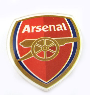 Arsenal Football FC Sports Acrylic Brooch Pin Badge New