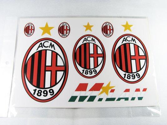Football Sports FC Club Car Sticker AC Milan Brand New
