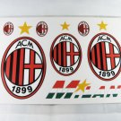 Football Sports FC Club Car Sticker AC Milan Brand New
