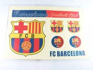 Football Sports FC Club Car Sticker Barcelona Brand New