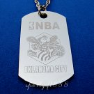 Stainless Steel NBA Club Dog Tag Oklahoma City Thunder
