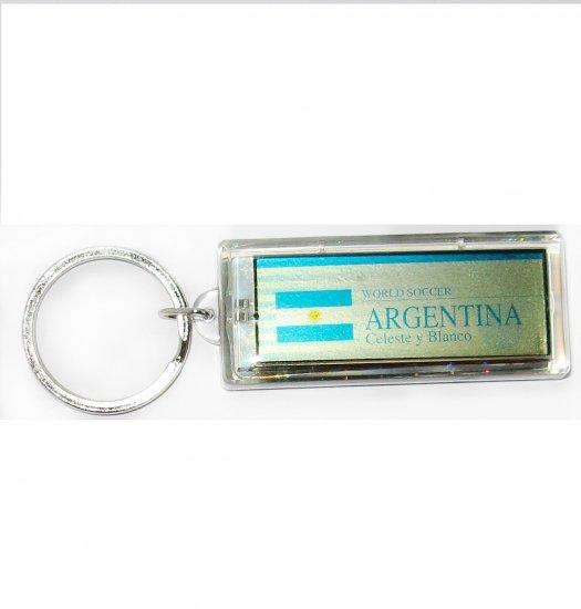 Argentina FC Club solar powered key chain keyring-LCD