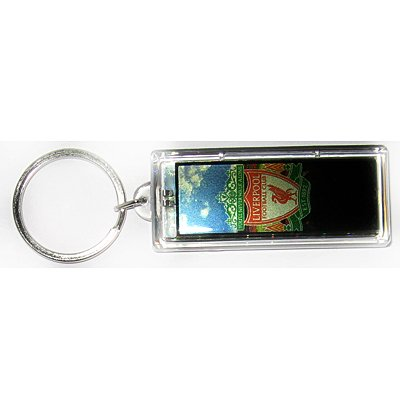 Liverpool FC Club solar powered key chain keyring-LCD