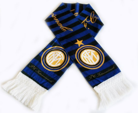 Inter Milan Football FC Club Sports Flannel Shawl Scarf New