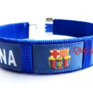 Barcelona FC Club Football Sport Colorful Adjustable Bangle Bracelet Wristband