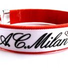 AC Milan FC Club Football Sport Colorful Adjustable Bangle Bracelet Wristband