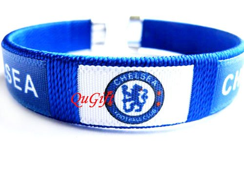 Chelsea FC Club Football Sport Colorful Adjustable Bangle Bracelet Wristband