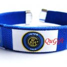 Inter Milan FC Club Football Sport Colorful Adjustable Bangle Bracelet Wristband #2