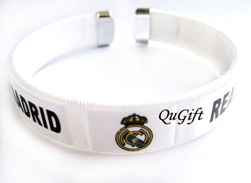 Real Madrid FC Club Football Sport Colorful Adjustable Bangle Bracelet Wristband #2