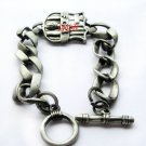 Barcelona FC Club Football Sports Bangle Bracelet Metal Wristband