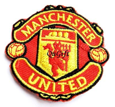 Manchester United FC Club Football Sports Pin Badge Embroidery Patch