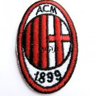 AC Milan FC Club Football Sports Pin Badge Embroidery Patch